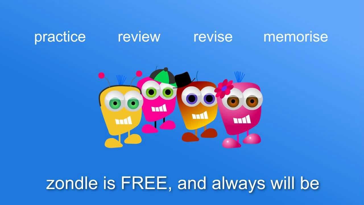 [WEB]Zondle 針對教學需求設計遊戲的教學資源網站