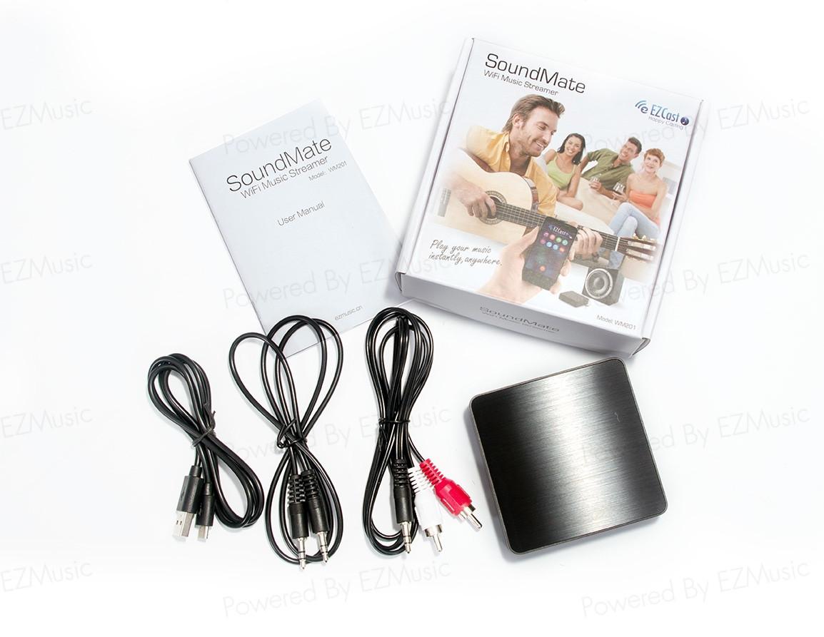 [硬體]EZCAST的兄弟 EZMUSIC SoundMate(燒麥)無線音樂傳送盒(一)