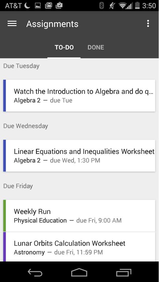 [APP]Google Classroom 推出Android / IOS APP