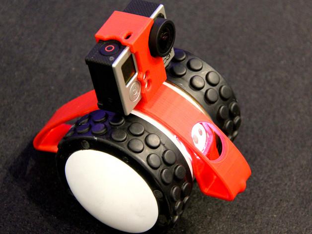 [Ollie][Ollie] Sphero Ollie智能小車 五 : Sphero Ollie+3D列印+Gorpo運動攝影機