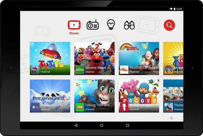 [APP]Youtube for kids : Google第一隻專為孩童打造的行動應用