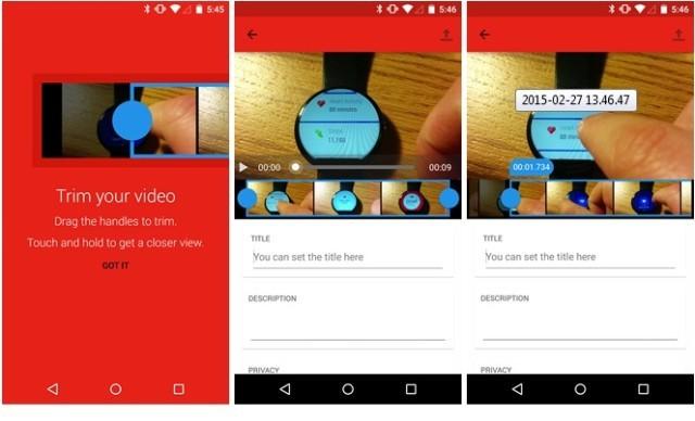 [APP]Android中的Youtube新增即時修剪影片功能