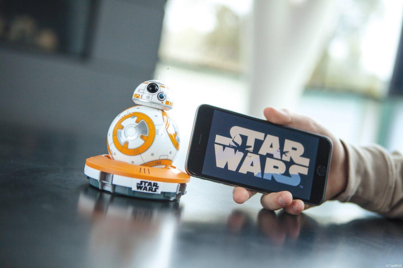 [Coding] Sphero 新機器人 BB-8 : 一小時之內賣光
