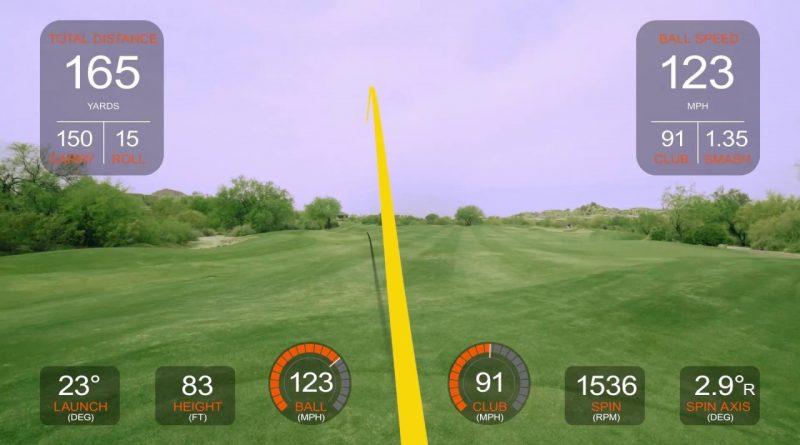 [擴增實境]下雨但喜歡打高爾夫的請進